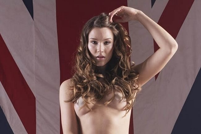 Joss stone goes nude for poster