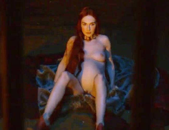 Carrice Van Houten Nude