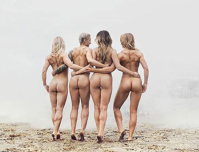 Stars nude sport Sports wardrobe