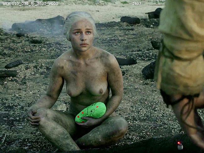 Emilia Clarke Nude Celebrity