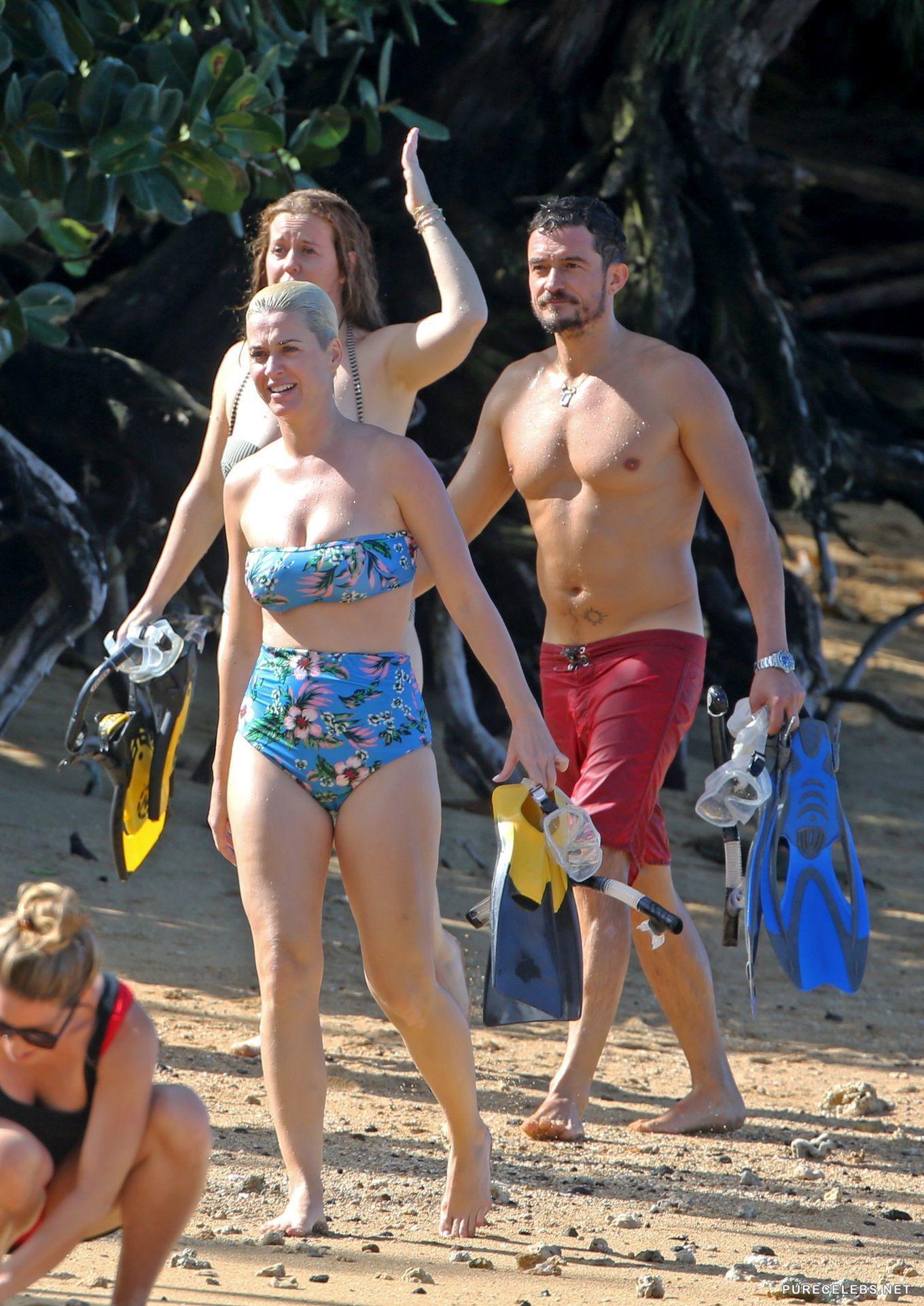 Filtran nuevas fotos hot de las vacaciones de Katy Perry y