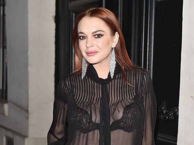 Lindsay Lohan sex tape
