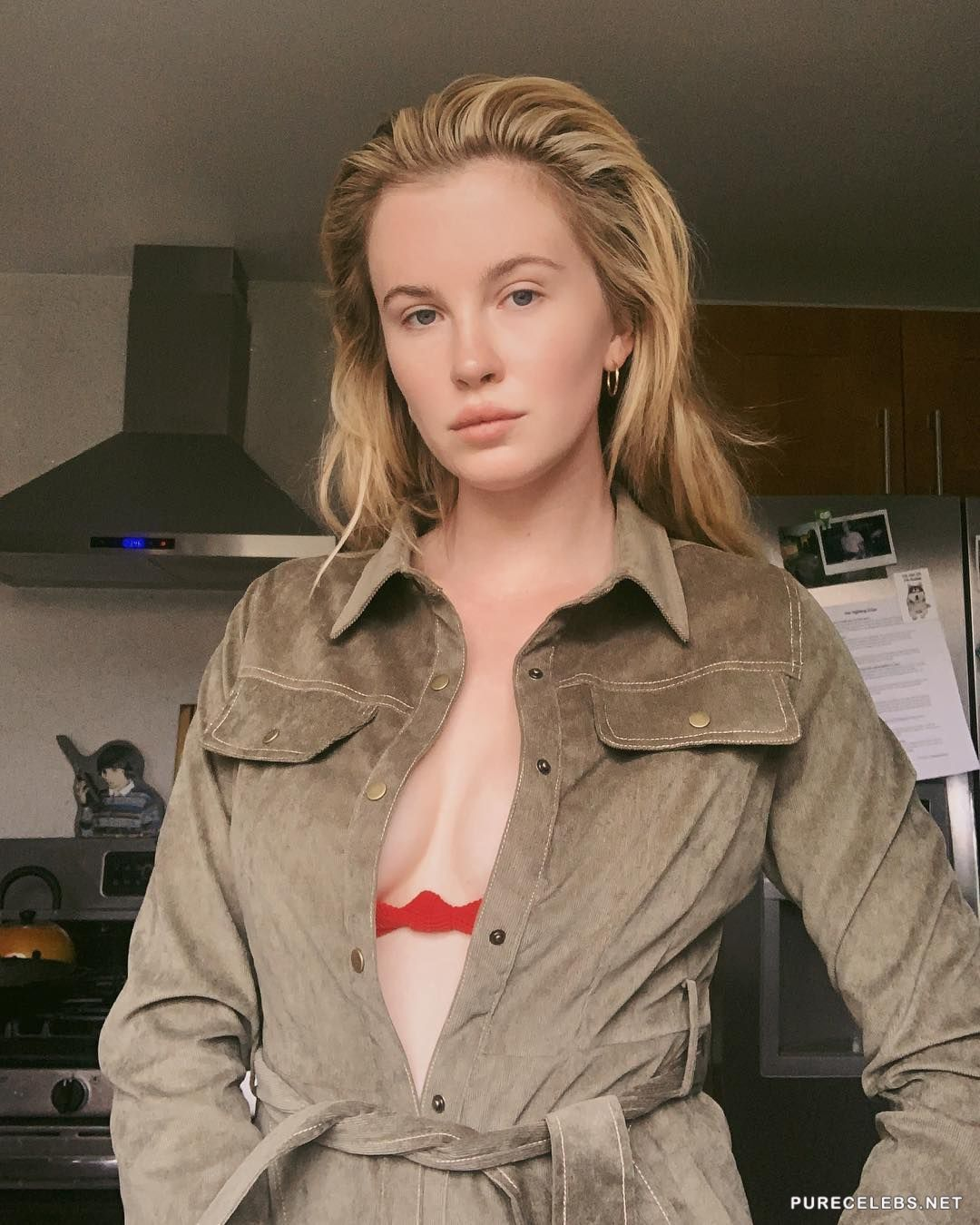 Ireland Baldwin Goes Topless For New Photo Shoot With