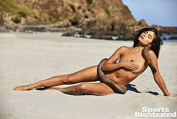 Brooks Nader Poses Topless For Sports Illustrated Swimsuit