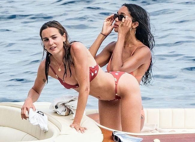 Laura Harrier & Eleonore Toulin nude