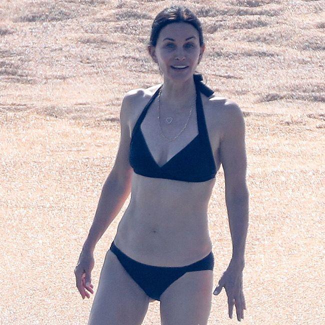 Courteney Cox & Jennifer Aniston nude