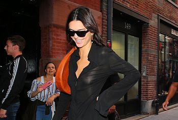 Kendall Jenner In See Through Without Bra - Thefappening.link