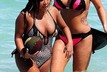 nicole polizzi bikini pics