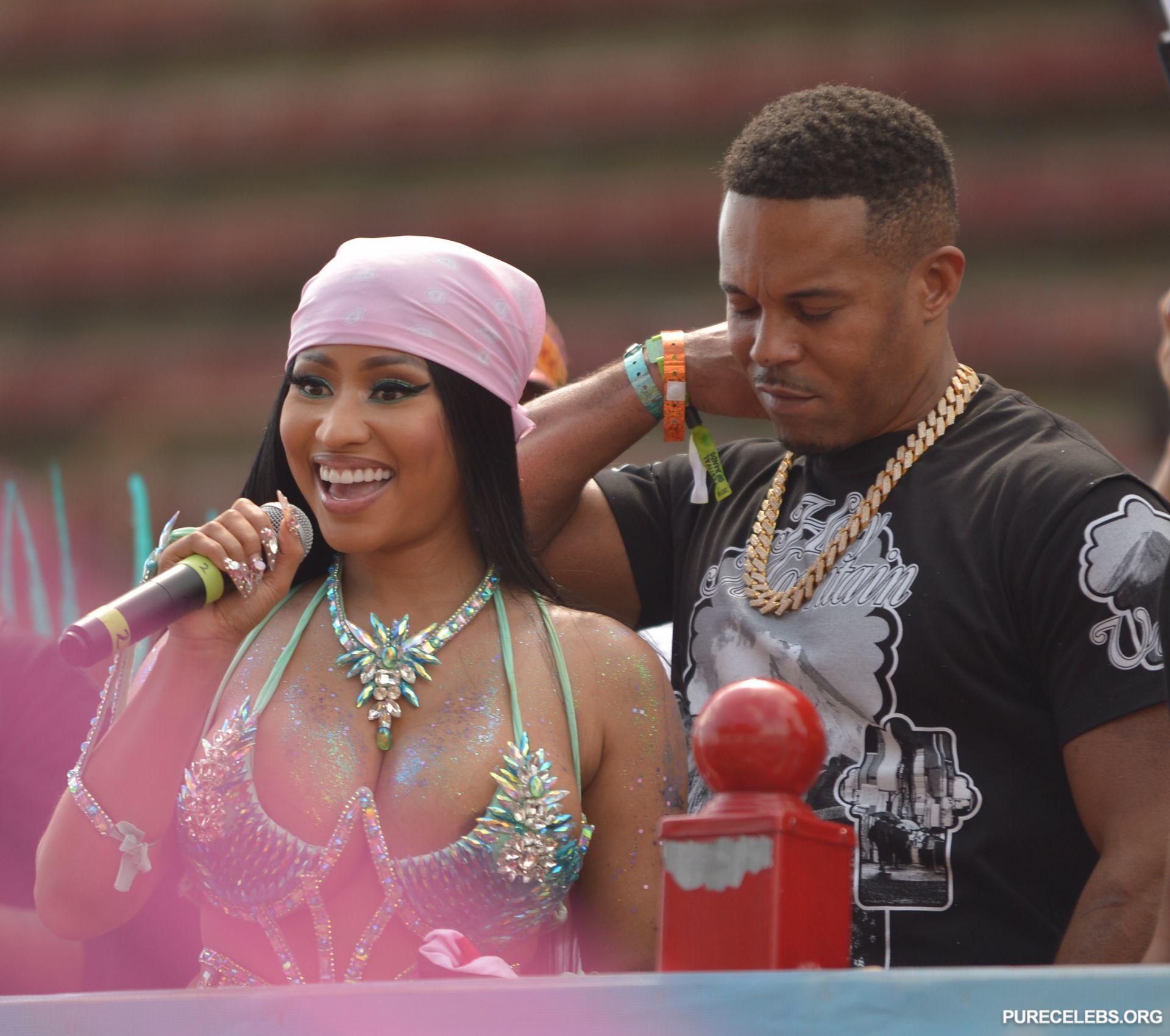 Nicki Minaj Dons an Eye-Catching and Mostly See-Through