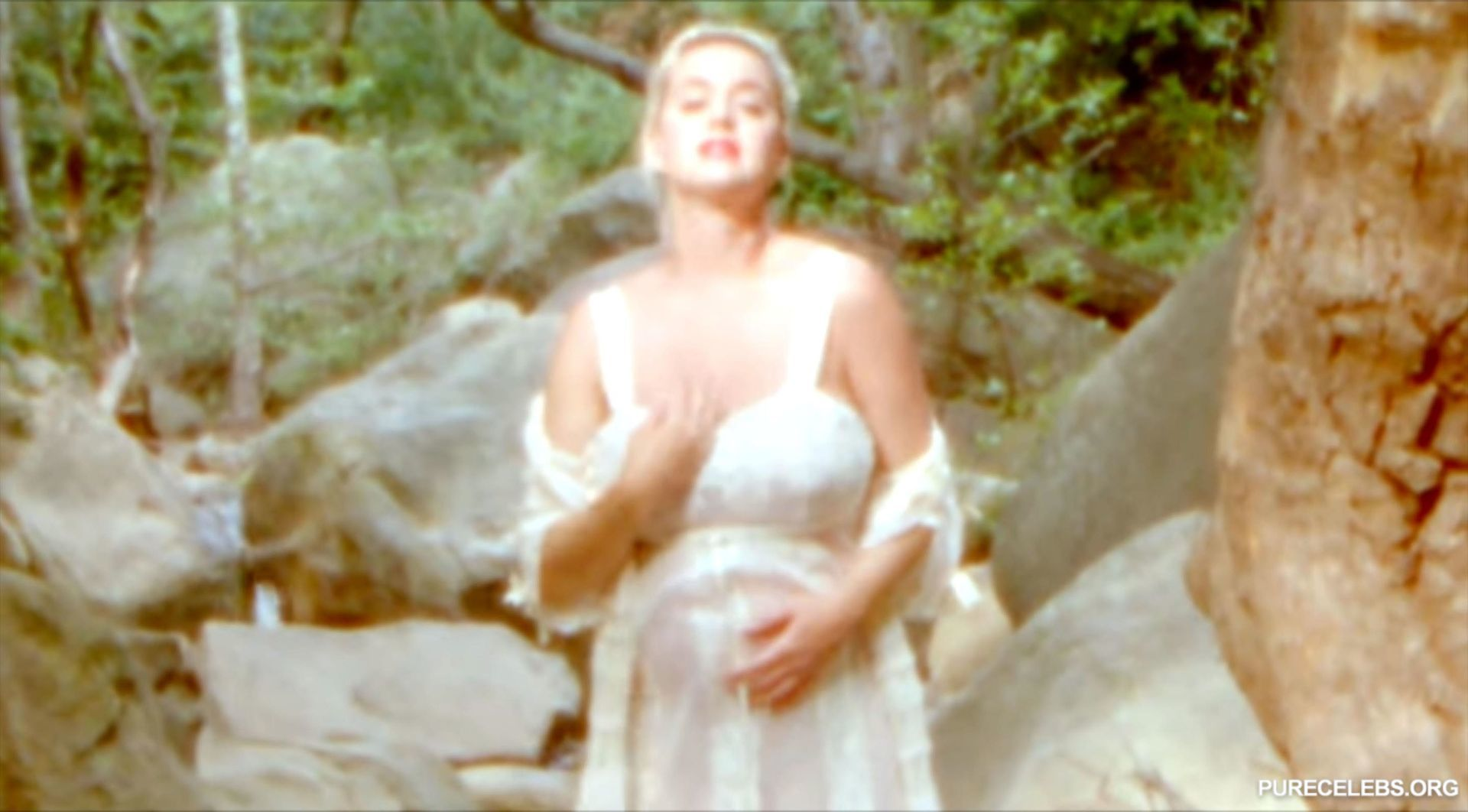 Katy Perry Nude in Daisies Music Video   Entertainment