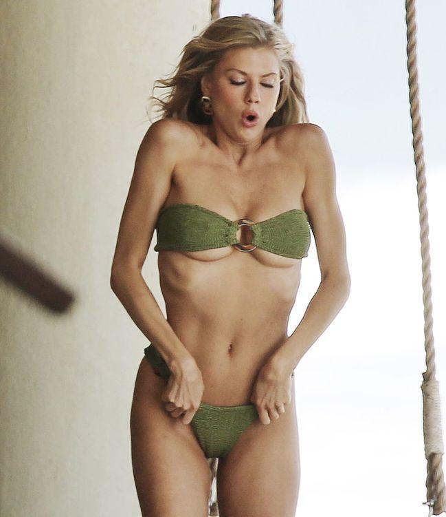 Charlotte McKinney nude oops bikini