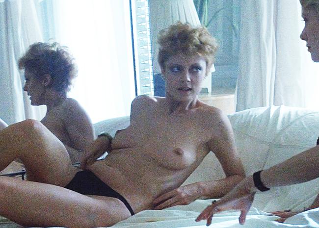 Susan Sarandon nude sex video
