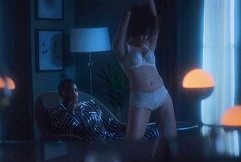 Elarica Johnson lingerie