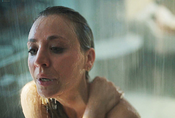Kaley Cuoco naked shower scenes