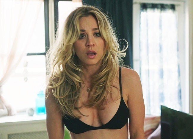 Kaley Cuoco nude scenes