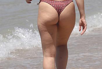 Abbie Chatfield thong bikini