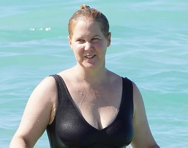 Amy Schumer topless photos