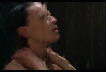 Hilary Swank nude in shower