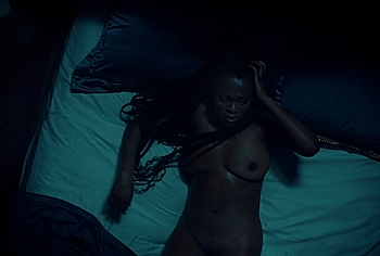 Yetide Badaki naked movie scenes