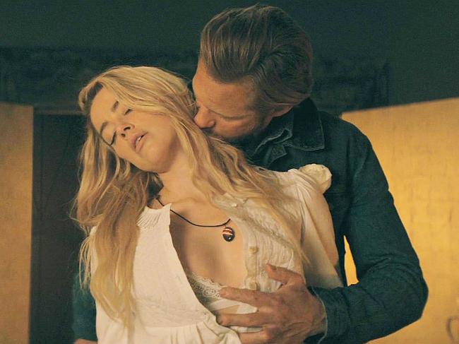 Amber Heard sex scenes