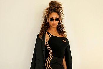 Большая жопа Бейонсе Ноулз для фотосессий Adidas - NuCelebs.com