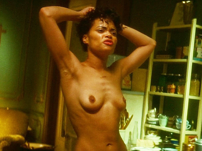 Andra Day frontal nude