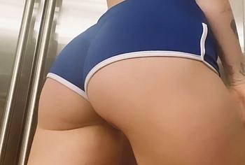 Miley Cyrus ass shots
