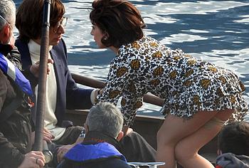 Lady Gaga upskirt moments