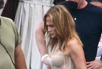 Jennifer Lopez booty shots