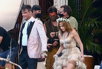 Jennifer Lopez stockings