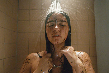 Nell Tiger Free naked shower
