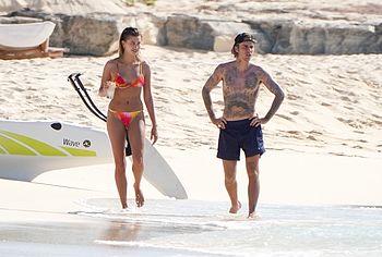 Hailey Bieber bikini photos