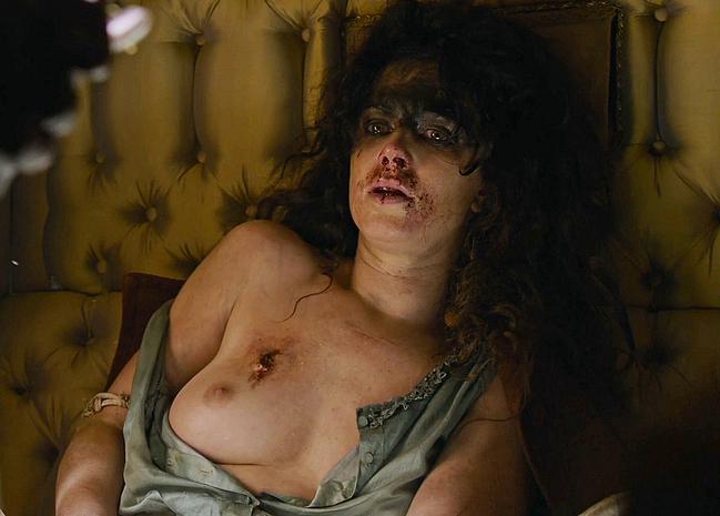 Amy Manson topless scenes