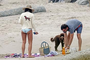 Jordana Brewster bikini booty
