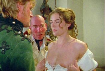 Elizabeth Hurley naked movie scenes