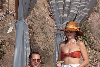 Margot Robbie with husband