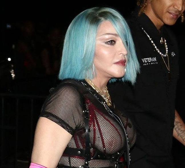 Madonna tits photos