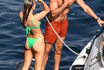 Rebecca Rittenhouse wet bikini