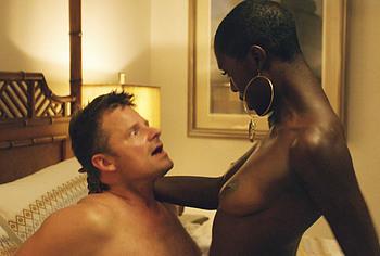 Jodie Turner Smith nude movie scenes