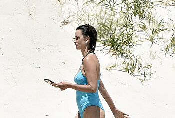 Penelope Cruz sunbathing