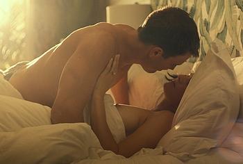 Alexandra Daddario nude movie scenes