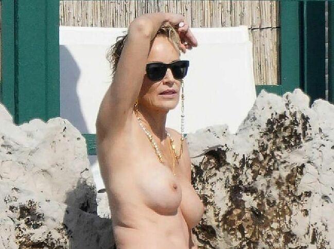 Sharon Stone nude photos