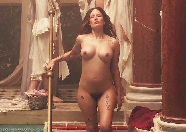Halsey nude video
