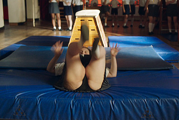 Beanie Feldstein upskirt scenes